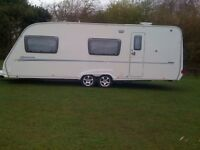 Sterling Europa 600 6 berth caravan 2007