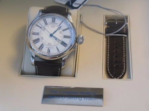 Longines Weems Second-Setting Watch Guaranteed authentic Genuine