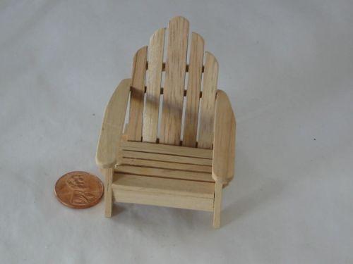 Miniature Adirondack Chair Ebay