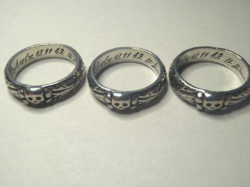 Military Grouse Co Sterling Ring