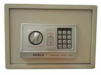 Noble Electronic Digital Safe Home Anti Theft Security Box Tan Model:St-25E