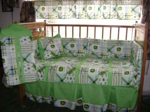 John Deere Crib Sets For Boys : John deere baby bedding ebay