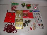 Miniature Ornaments Lot