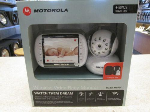 motorola wireless video baby monitor ebay. Black Bedroom Furniture Sets. Home Design Ideas