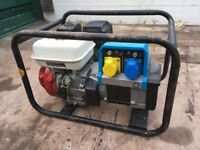 honda generator 6.5 hp 3.5 kva £200 noi offers or swap for power washer
