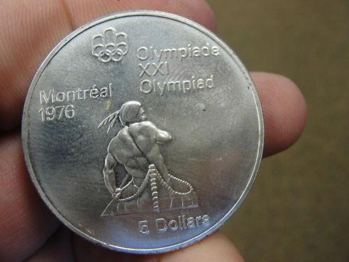 1976 Canada Olympic Coin Ebay