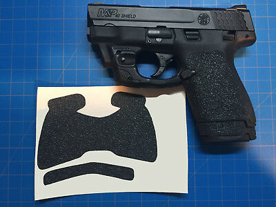 Smith & Wesson M&P Shield 9/40 Custom Rubber Tactical Gun Grips Way Better Grip