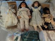 Large Porcelain Dolls
