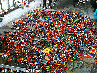 ☀️New 1 to 1000 POUNDS LB of LEGO LEGOS PIECES FROM HUGE BULK LOT PARTS @ RANDOM