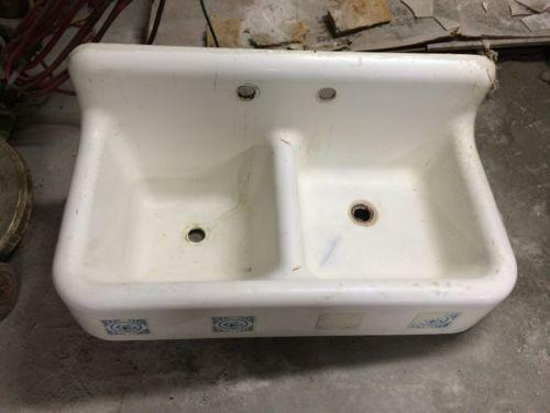 Cast Iron Porcelain Sink Ebay