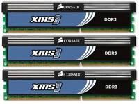 6gb 3x2gb DDR3 Corsair XMS3 2000Mhz CL9 Ram triple channel