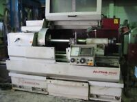 HARRISON ALPHA PLUS SEMI CNC TEACH LATHE 1000MM CENTRES YEAR 1997