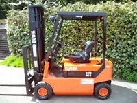 Clark electric counterbalance forklift truck