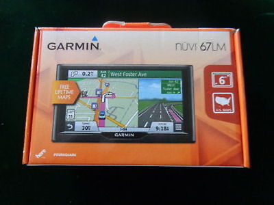 Garmin Nuvi 67Lm 6  Gps With Lifetime Maps      Mint  Shelf Pulls