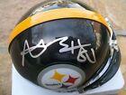 Beckett Pittsburgh Steelers NFL Autographed Football Helmets
