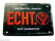 Jägermeister Schild