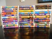 Disney Collection VHS Lot