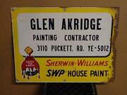 Sherwin Williams Sign