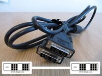 2Metre DVI-D Digital Monitor 18+1 Single Link Male to Male Lead 26-1663