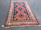 Multi-Colored Persian Antique Rugs & Carpets Medium (4x6-6x9) Size