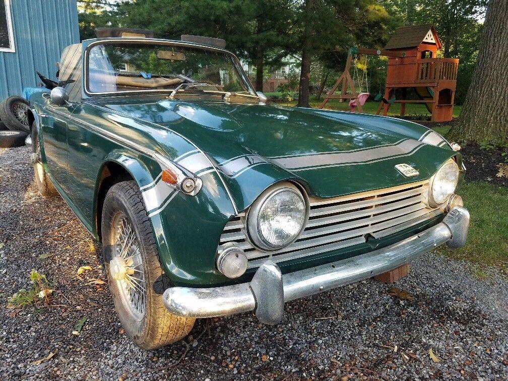 1968 Triumph TR250  1968 Triumph TR250, Rare Overdrive, Complete, NO RUST