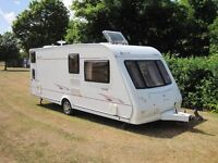 2006 elddis avante .6 berth tourer fited bunks everything you will need ,full awning