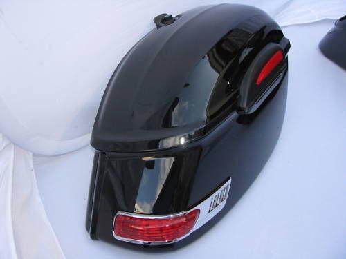 Roadliner saddlebags ebay for Yamaha raider hard saddlebags