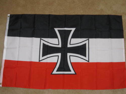 3X5 GERMANY WWI JACK FLAG GERMAN IRON CROSS NEW F417