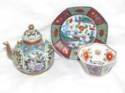 Porcelain Miniature Teapots