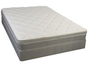 PILLOW TOP WITH 650 COILS MATTRESS and BOX SALE FROM $235 only