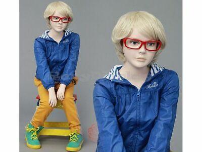 Child Fiberglass Cute Realistic Mannequin Dress Form Display Mz-ita4