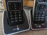 BT6500 TWIN DIGITAL CORDLESS TELEPHONE ANSWERING MACHINE