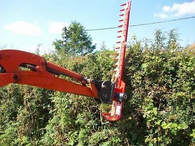 HEDGE CUTTER ATTACHMENT  AGR150 FITS MINI DIGGER 1.5 -3 TON
