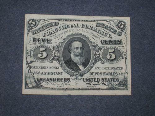 5 Cent Fractional Currency Ebay