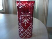 Red Bohemian Glass