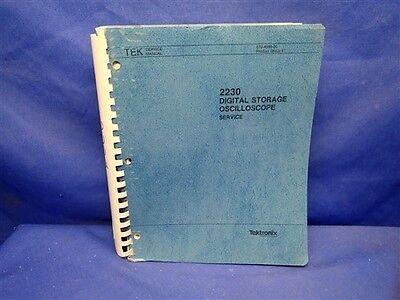 Tektronix 2230 Digital Storage Oscilloscope Service Manual