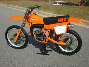 Can Am Dirt Bikes Wanted