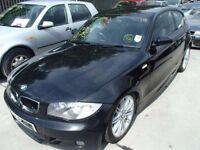 BMW 1 SERIES E87 M SPORT FRONT END BUMPER BONNET HEADLIGHT BREAKING SPARES