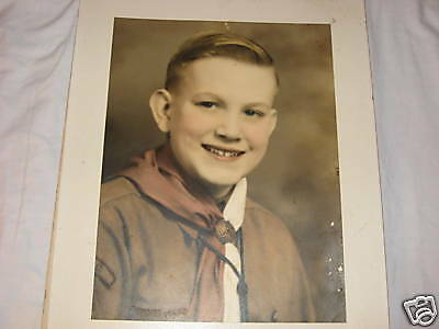 Boy Scout Portrait 1930-40
