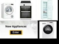 Condenser dryers, washing machines, washer dryers, Ex-display - New & Refurbished available