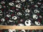 Skull Fleece Fabric