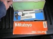 Mitutoyo Dial Caliper