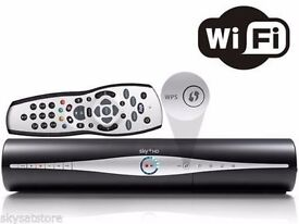 SKY+HD 500GB with Built in WIfi- 3D on Demand Ready box