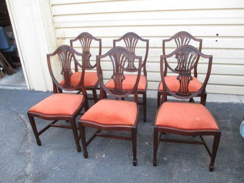 shield back chairs ebay