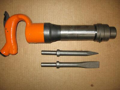 American Pneumatic Air Chipping Hammer Apt 653r 2 Bits