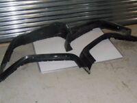 JEEP Wrangler J K Fender Flares Black full set of 4