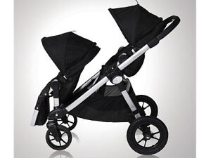 Double Baby Jogger City Select with second seat....adapter