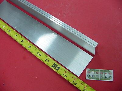 4 Pieces 18 X 2 Aluminum 6061 Flat Bar 14 Long .125 T6511 Plate Mill Stock