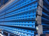 JOB LOT STOW pallet racking excellent condition ( pallet racking , industrial storage )