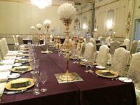 Gold candelabras only $15ea for DIY Rental